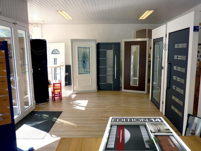 Bauelemente Mathena Bottrop Essen Oberhausen - Blick in unsere Ausstellungsräume