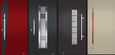 Aluminium-Haustüren der neusten Generation